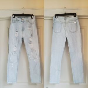 7 for all mankind Distressed Light Wash Jean's, 29
